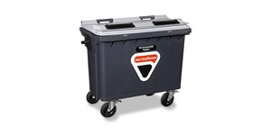 660 liter rolcontainer Data Secur